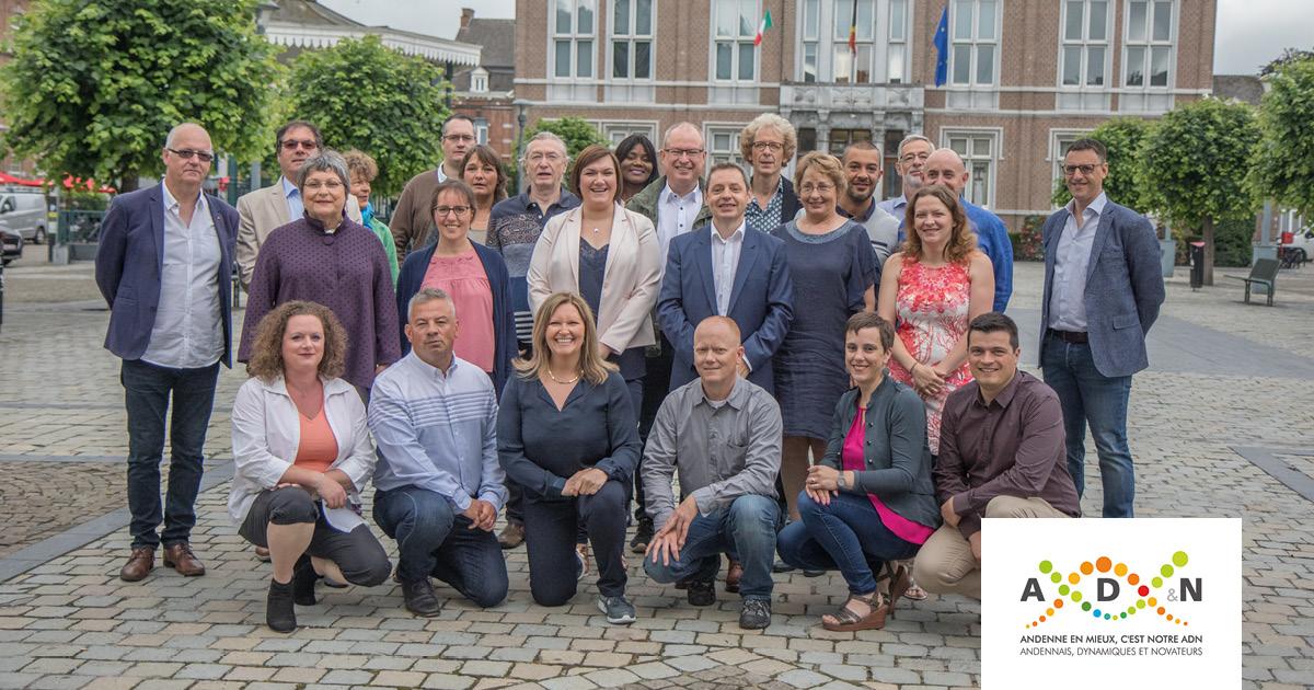 Les candidats AD&N aux élections communales 2018 d'Andenne