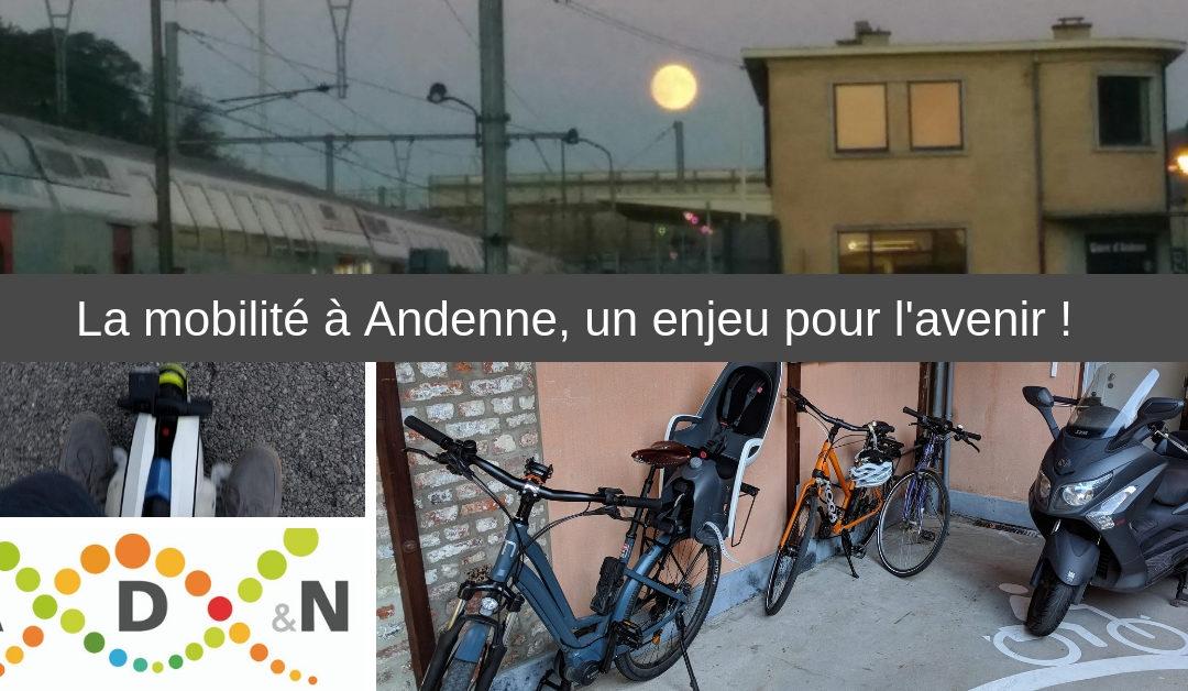 La mobilité à Andenne, un enjeu pour l'avenir !