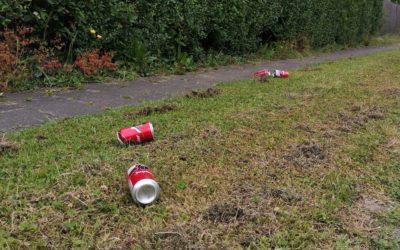 Récoltons et recyclons les canettes qui polluent notre environnement